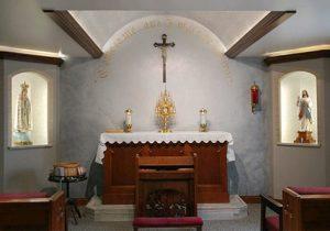 Chapel of Divine Mercy Perpetual Adoration at Good Shepherd Parish Catholic Church Chilton Wisconsin