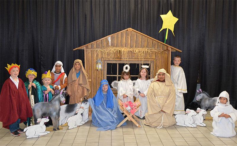 Breakfast In Bethlehem children's play at Good Shepherd Catholic Church, Chilton Wisconsin