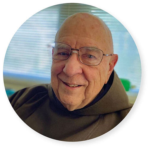 Father Andre Weller, Capuchin priest, celebrated his 75th Jubilee on September 1, 2020