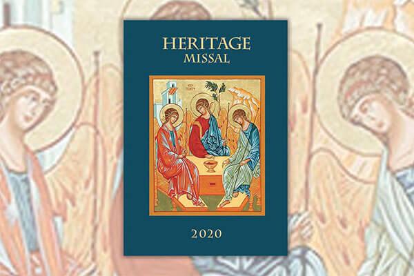 2020 Heritage Missal Reserve Your Copy Good Shepherd Parish Catholic Church Chilton